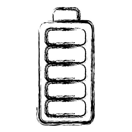Batterie isoliert isoliert Symbol Vektor-Illustration , Design , Standard-Bild - 98596160