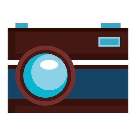 photographic camera isolated icon vector illustration design