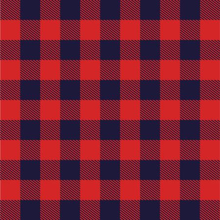 Tkanina z ilustracją szkockiej siatki wektorowej