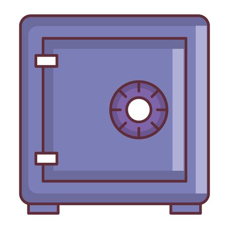 Safe box isolated icon vector illustration design. Foto de archivo - 98617335
