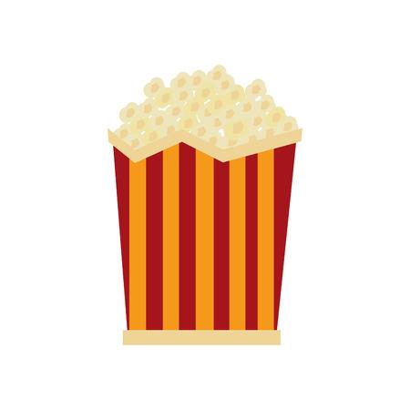 Pop corn cinema icon vector illustration design.