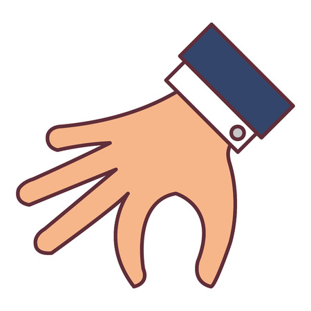 Hand taking isolated icon vector illustration design.