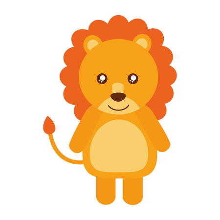 Cute lion animal icon vector illustration design Zdjęcie Seryjne - 98724120