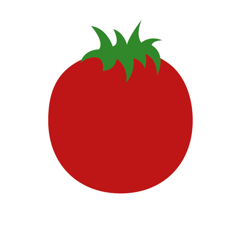 Fresh tomato vegetable healthy vector illustration design