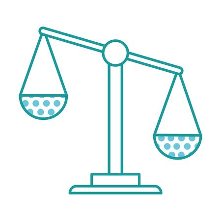 체중 규모 정의 아이콘 벡터 일러스트 레이 션 디자인
