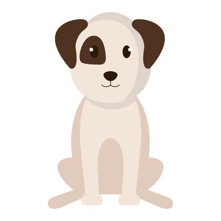 Dog bred pet friendly vector illustration design. Ilustração