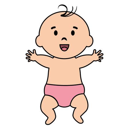 Little boy baby icon vector illustration design.