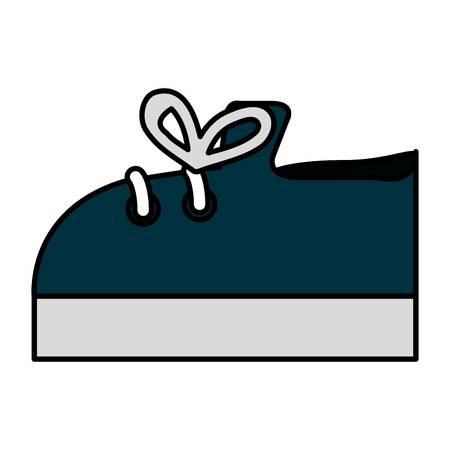 Baby shoe isolated icon vector illustration design Иллюстрация