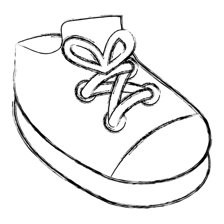 baby shoe isolated icon vector illustration design
