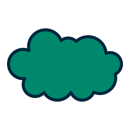 cloud in the sky icon vector illustration design Banque d'images - 98753599