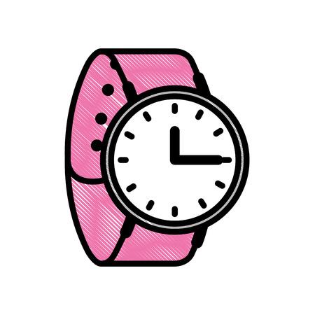 腕時計時間アクセサリートレンディベクターイラスト  イラスト・ベクター素材