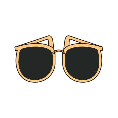 female sunglasses accessory icon vector illustration design