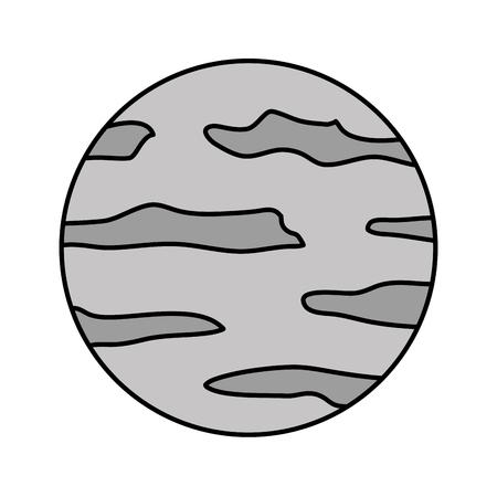 満月夜面自然画像ベクトルイラスト