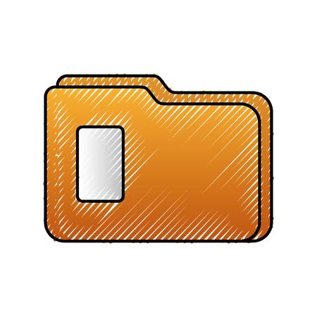 folder for file document organizer  vector illustration