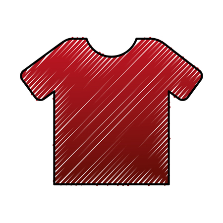 Red shirt marketing sale image vector illustration