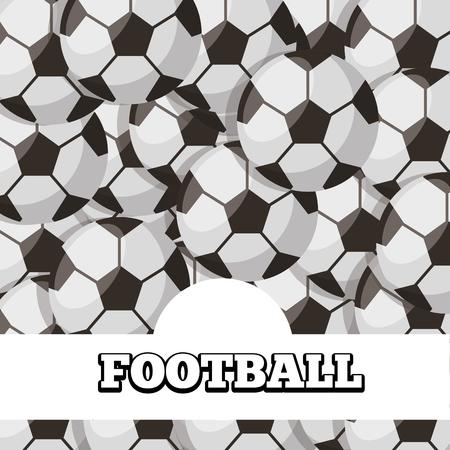 football balls sport background design vector illustration Stock Vector - 98910446