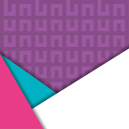 Material design lines cover background vector illustration