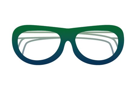 beach sunglasses accessory icon vector illustration design