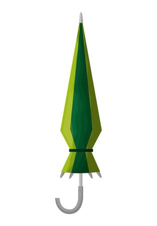 umbrella closed isolated icon vector illustration design Çizim
