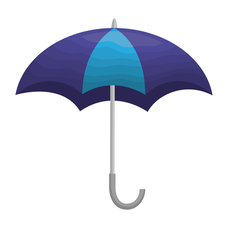 umbrella open isolated icon vector illustration design Ilustrace