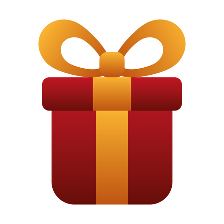 gift box present icon vector illustration design Illustration