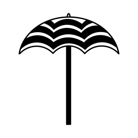 umbrella open isolated icon vector illustration design 版權商用圖片 - 99011998