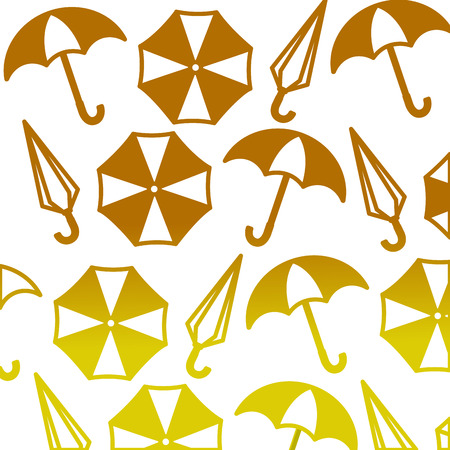 umbrellas icon pattern background vector illustration design Illusztráció