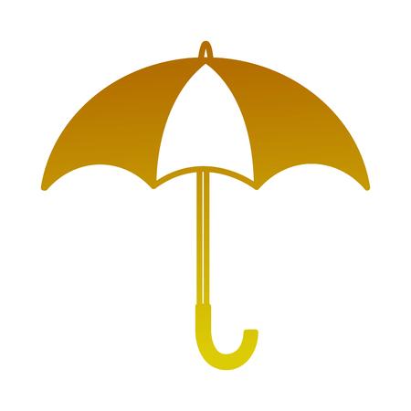umbrella open isolated icon vector illustration design Archivio Fotografico - 99014029