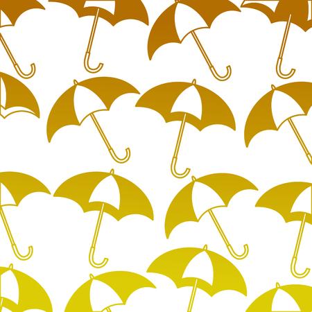 umbrellas icon pattern background vector illustration design Archivio Fotografico - 99014073