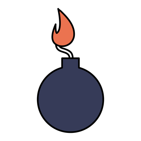 boom explosive isolated icon vector illustration design Ilustracja
