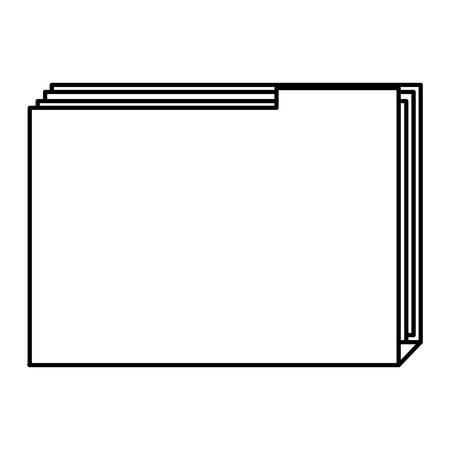 file folder isolated icon vector illustration design Imagens - 99167073