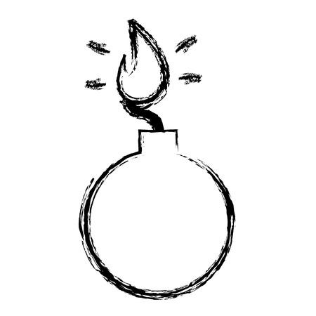 Boom explosive isoliert Symbol Vektor-Illustration , Design , Standard-Bild - 99162281