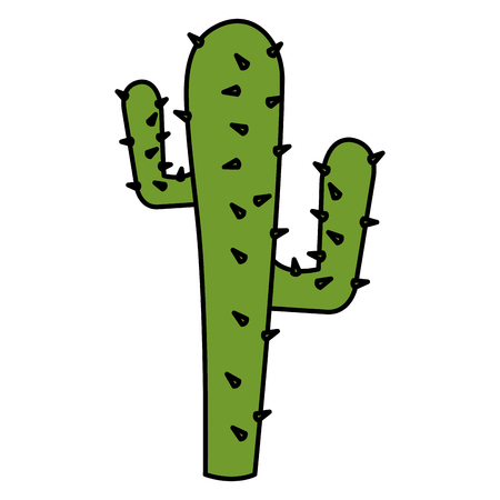 Cactus nopal natural icon vector illustration design.