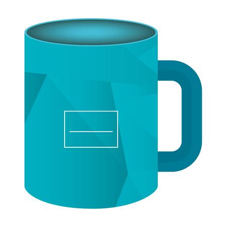 corporate company mug icon vector illustration design Stock Vector - 99236907
