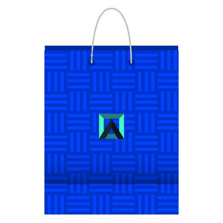 Corporate company shopping bag vector illustration design Stock Vector - 99271355