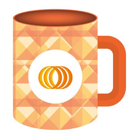 corporate company mug icon vector illustration design Stock Vector - 99236927
