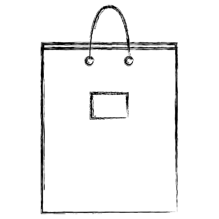 corporate company shopping bag vector illustration design Stock Vector - 99238598