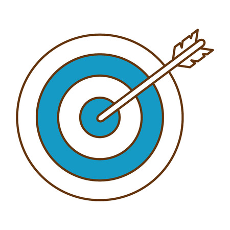 A target and an arrow icon.