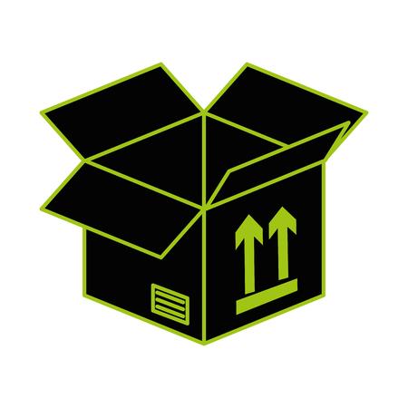 box carton isolated icon vector illustration design 版權商用圖片 - 99242770