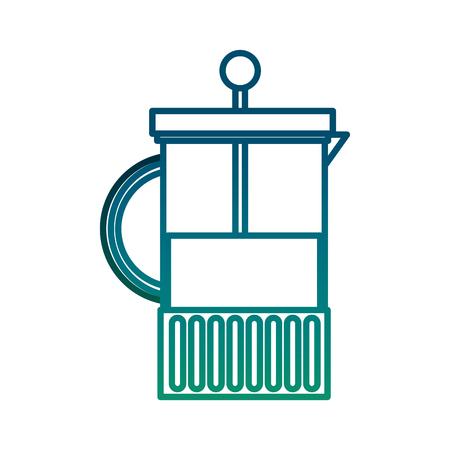 Kettle teapot icon illustration design  イラスト・ベクター素材