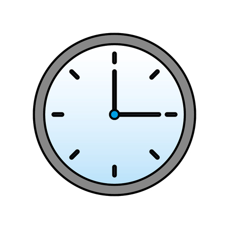 clock time hour break image vector illustration 일러스트