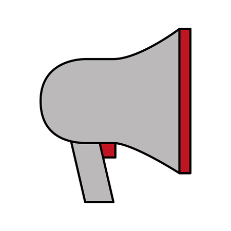 digital marketing speaker advertising image vector illustration 일러스트