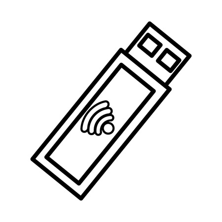 Wireless Internet connection icon vector illustration design