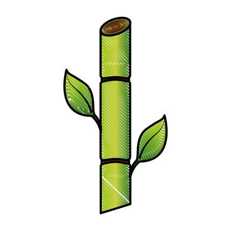 サトウキビ資源バイオ燃料再生可能ベクターイラスト画  イラスト・ベクター素材