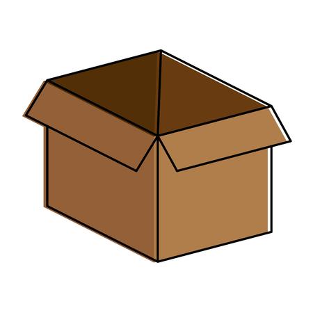 Box carton isolated icon vector illustration design 版權商用圖片 - 99535119