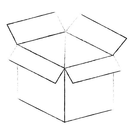 box carton isolated icon vector illustration design 版權商用圖片 - 99559005