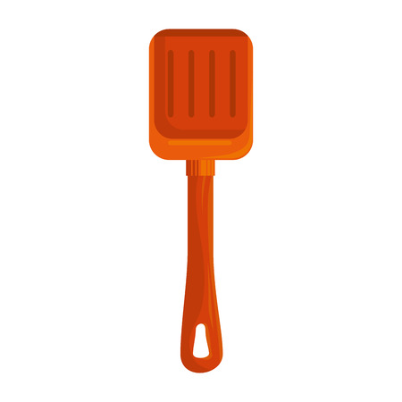 A plastic shovel isolated icon vector illustration design