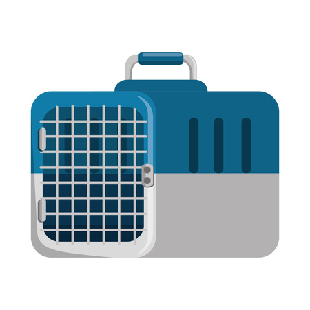 A box transport mascot icon vector illustration design