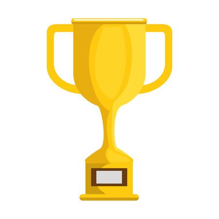Trophy cup award icon vector illustration design Illustration