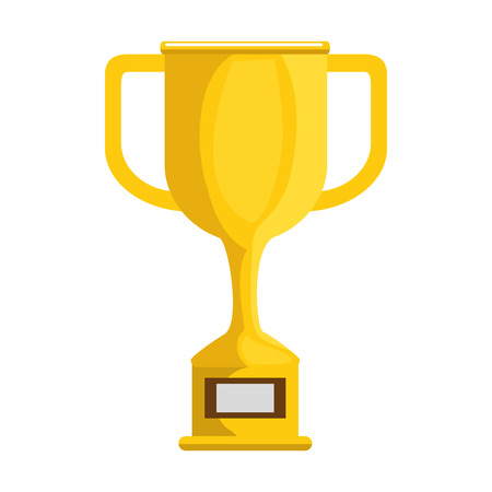 Trophy cup award icon vector illustration design 일러스트